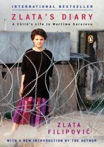 Zlata's Diary by Zlata Filipovic. Book cover image by Penguin Books.