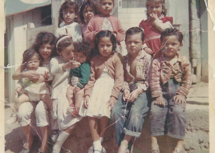 My mother. her brothers, and her sisters in Tijuana in 1959