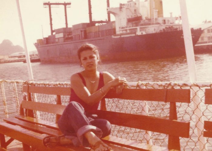My mother on a cruise in Mazatlan, Mexico in 1978
