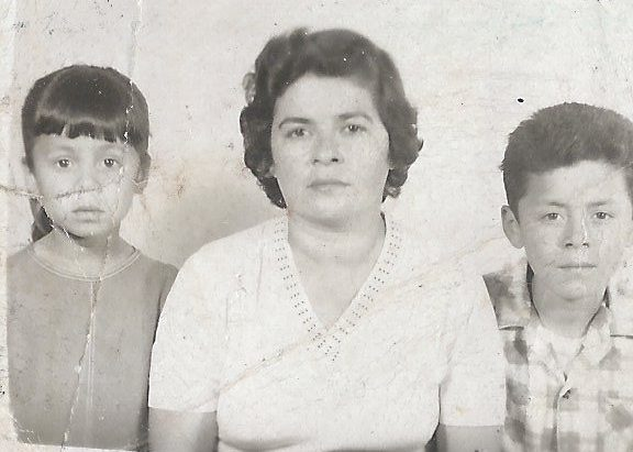 My mother, her brother, and her mother taken in 1964