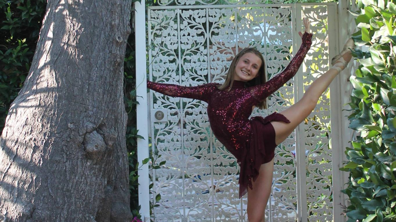 Olenka Kymak has been in numerous dance shows, including one in New York City.