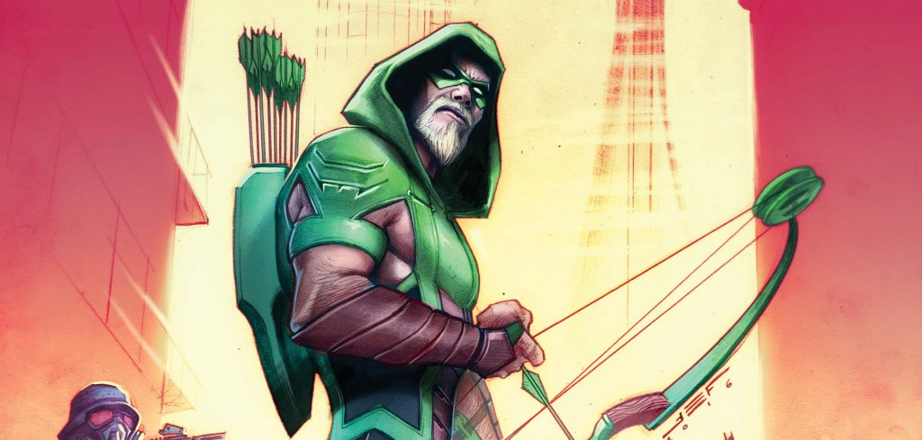 Oliver Queen becomes the Green Comic to fight crime. (DC Comics)