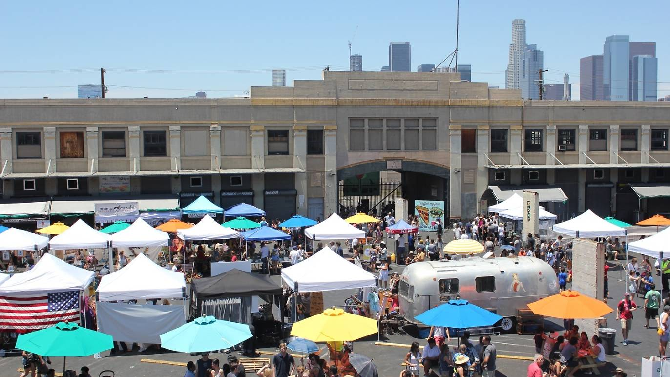 View of a live event in Los Angeles. (Photograph from Smorgasburg LA)