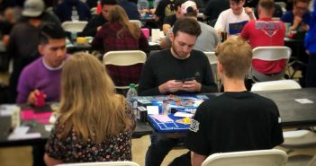 Andrew Munoz competes in the 2018 Pokemon Regional Championship Tournament in Costa Mesa Saturday, March 3. (courtesy of Jeff Stratford)