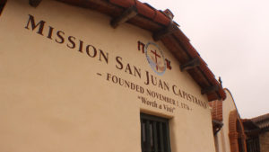 There are multiple urban legends about ghosts who roam the Mission in San Juan Capistrano. (Jon Boardman)